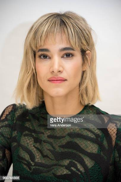 Sofia Boutella at the Hotel Artemis Press Conference at the Four Seasons Hotel on April 24 2018 in Beverly Hills California