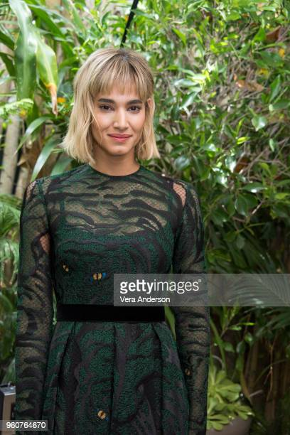 Sofia Boutella at the 'Hotel Artemis' Press Conference at the Four Seasons Hotel on April 24 2018 in Beverly Hills California