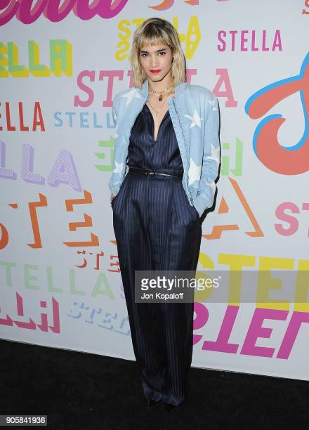 Sofia Boutella attends Stella McCartney's Autumn 2018 Collection Launch on January 16 2018 in Los Angeles California
