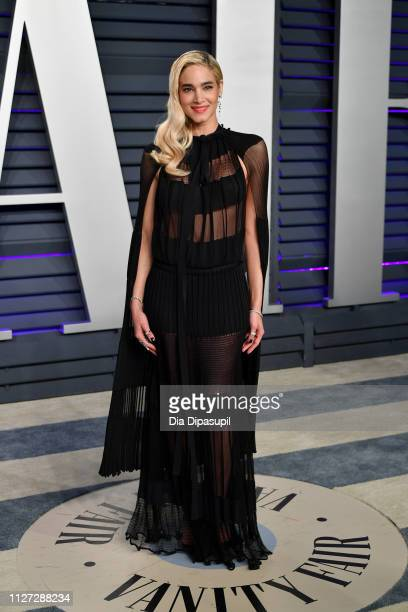 Sofia Boutella attends the 2019 Vanity Fair Oscar Party hosted by Radhika Jones at Wallis Annenberg Center for the Performing Arts on February 24...