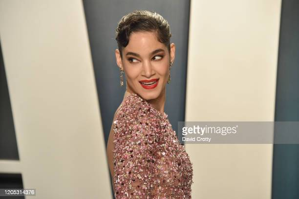 Sofia Boutella attends the 2020 Vanity Fair Oscar Party at Wallis Annenberg Center for the Performing Arts on February 09 2020 in Beverly Hills...