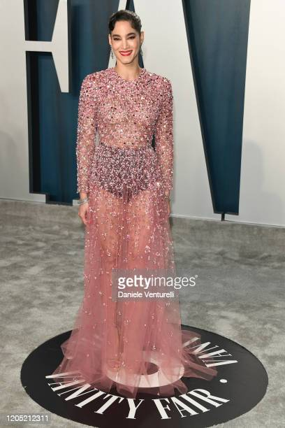 Sofia Boutella attends the 2020 Vanity Fair Oscar party hosted by Radhika Jones at Wallis Annenberg Center for the Performing Arts on February 09...