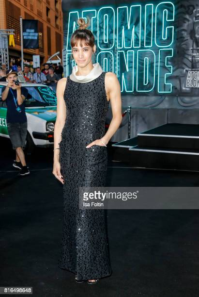 Sofia Boutella attends the 'Atomic Blonde' World Premiere at Stage Theater on July 17 2017 in Berlin Germany
