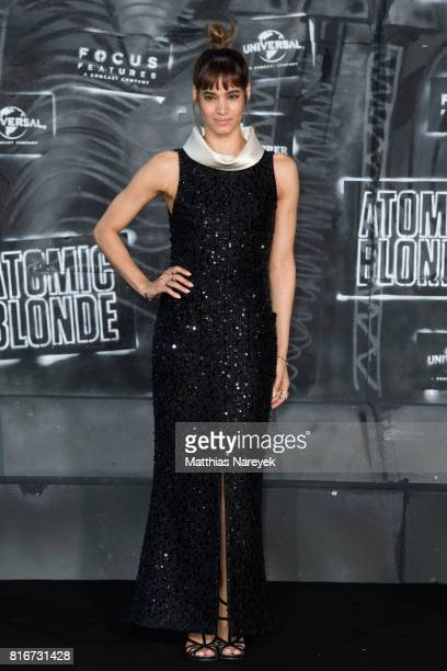 Sofia Boutella attends the 'Atomic Blonde' World Premiere In Berlin at Stage Theater on July 17 2017 in Berlin Germany