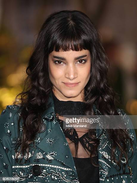 Sofia Boutella attends the Burberry show during London Fashion Week Spring/Summer collections 2016/2017 on September 19 2016 in London United Kingdom