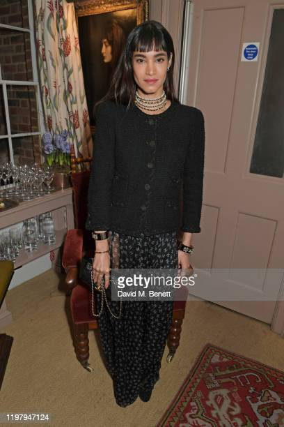 Sofia Boutella attends the Charles Finch CHANEL PreBAFTA Party at 5 Hertford Street on February 1 2020 in London England