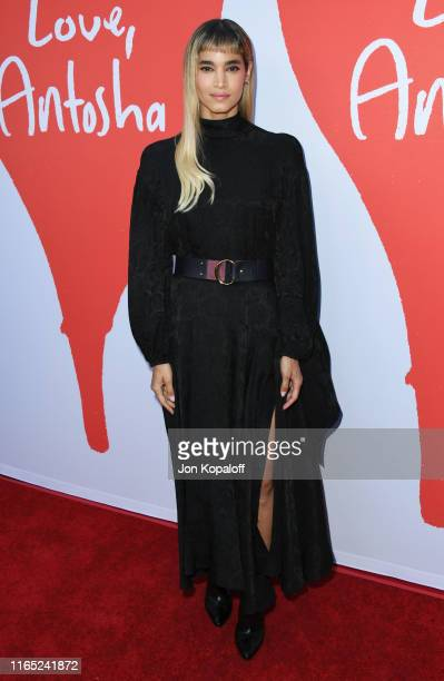 """Sofia Boutella attends the Los Angeles Premiere Of Lurker Productions' """"Love, Antosha"""" at ArcLight Cinemas on July 30, 2019 in Hollywood, California."""