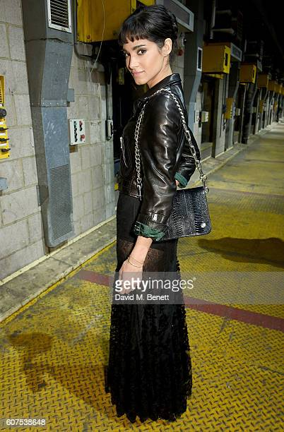Sofia Boutella attends the Mulberry Spring/Summer 2017 Show at The Printworks on September 18 2016 in London England