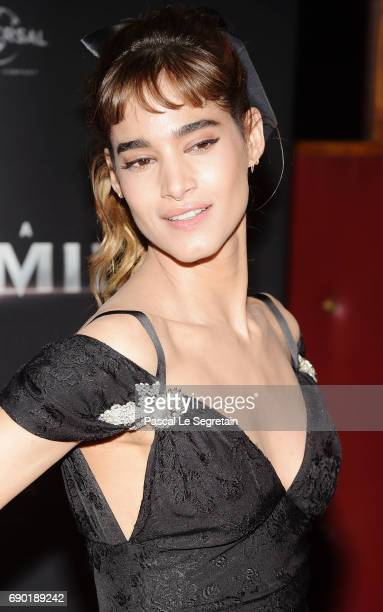 Sofia Boutella attends 'The Mummy La Momie' Paris Premiere at Le Grand Rex on May 30 2017 in Paris France