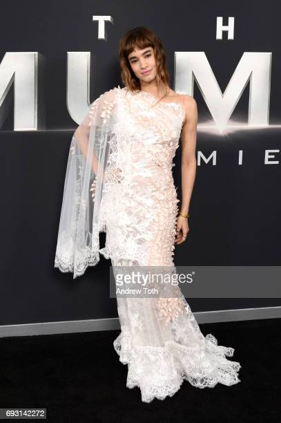 Sofia Boutella attends 'The Mummy' New York fan event at AMC Loews Lincoln Square on June 6 2017 in New York City