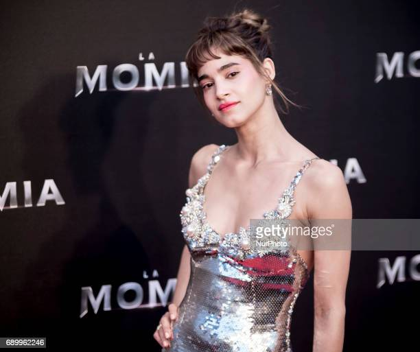 Sofia Boutella attends 'The Mummy' premiere at Callao Cinema on May 29 2017 in Madrid Spain