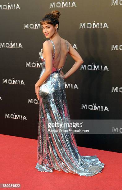 Sofia Boutella attends the premiere for 'The Mummy' at Callao Cinema on May 29 2017 in Madrid Spain