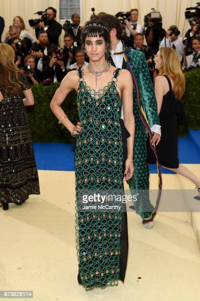 Sofia Boutella attends the 'Rei Kawakubo/Comme des Garcons Art Of The InBetween' Costume Institute Gala at Metropolitan Museum of Art on May 1 2017...