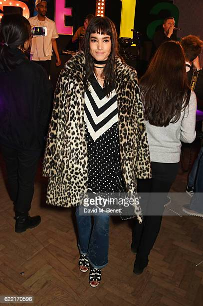Sofia Boutella attends the Stella McCartney Menswear launch and Women's Spring 2017 collection presentation at Abbey Road Studios on November 10 2016...