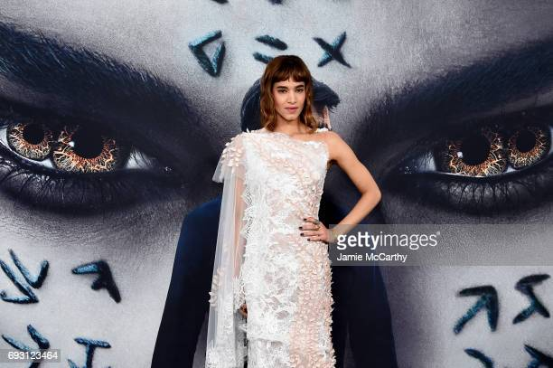Sofia Boutella attends the 'The Mummy' New York Fan Event at AMC Loews Lincoln Square on June 6 2017 in New York City