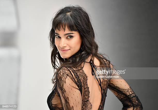 Sofia Boutella attends the UK Premiere of Paramount Pictures 'Star Trek Beyond' at the Empire Leicester Square on July 12 2016 in London England