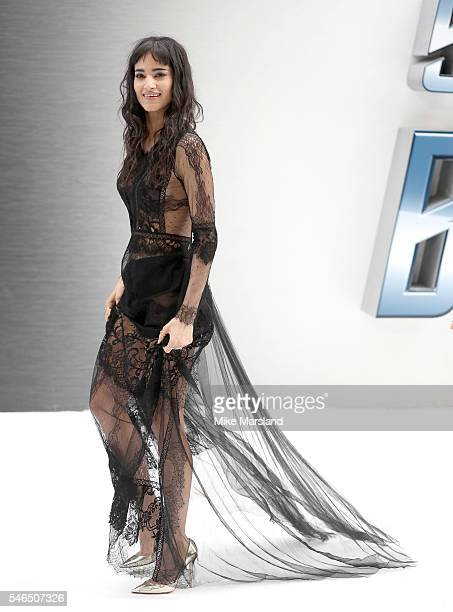 Sofia Boutella attends the UK Premiere of Star Trek Beyond at Empire Leicester Square on July 12 2016 in London England