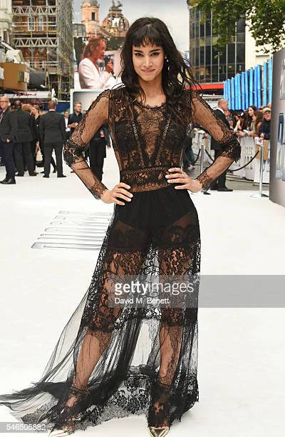 """Sofia Boutella attends the UK premiere of """"Star Trek Beyond"""" on July 12, 2016 in London, United Kingdom."""