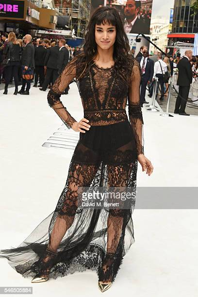 Sofia Boutella attends the UK premiere of 'Star Trek Beyond' on July 12 2016 in London United Kingdom
