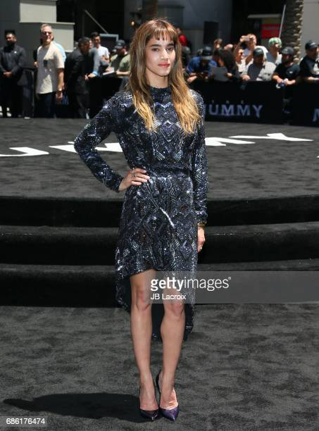 Sofia Boutella attends Universal Celebrates 'The Mummy Day' With 75Foot Sarcophagus Takeover at Hollywood And Highland on May 20 2017 in Hollywood...