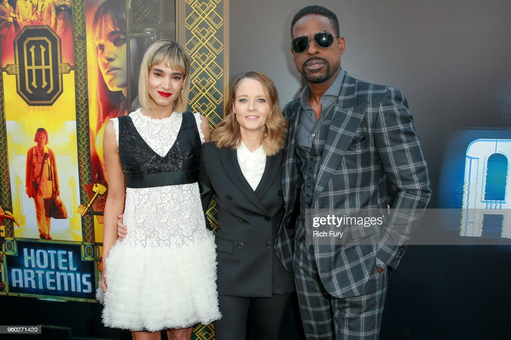 Sofia Boutella Jodie Foster And Sterling K Brown Attend Global Road Entertainments Hotel