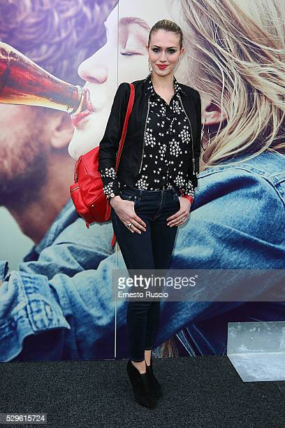 Sofia Bruscoli attends the CocaCola anniversary party at Foro Italico on May 08 2016 in Rome