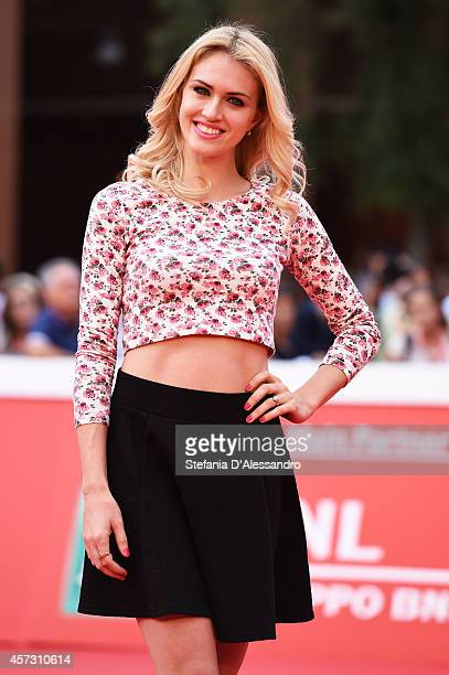 Sofia Bruscoli attends the 'Il Mio Papa' Premiere during the 9th Rome Film Festival on October 16 2014 in Rome Italy