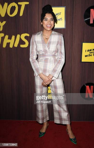 Sofia Bryant attends Netflix's I Am Not Okay With This Photocall at The London West Hollywood on February 25 2020 in West Hollywood California
