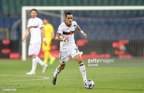 Sofia , Bulgaria - 3 September 2020; Georgi Kostadinov of Bulgaria during the UEFA Nations League B match between Bulgaria and Republic of Ireland at...