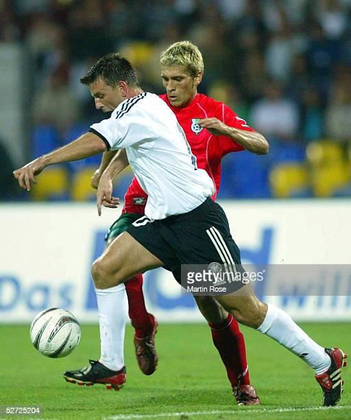 LAENDERSPIEL 2002 Sofia BULGARIEN DEUTSCHLAND 22 Bernd SCHNEIDER/GER Stilian PETROV/BGR