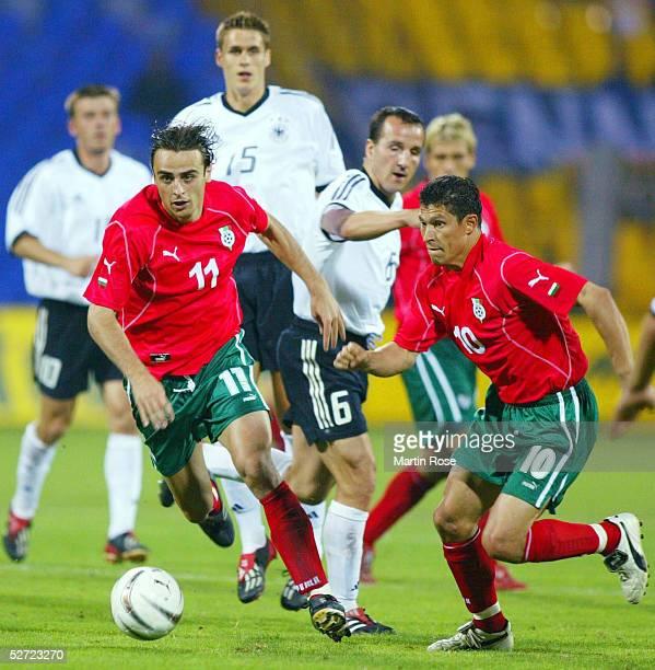 LAENDERSPIEL 2002 Sofia BULGARIEN DEUTSCHLAND 22 Krassimir BALAKOV Dimitar BERBATOV/BGR