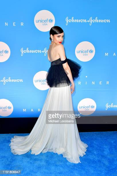 Sofia Carson at the 15th Annual UNICEF Snowflake Ball 2019 at 60 Wall Street Atrium on December 03 2019 in New York City