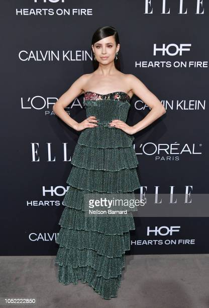 Sofia Carson attends ELLE's 25th Annual Women In Hollywood Celebration presented by L'Oreal Paris Hearts On Fire and CALVIN KLEIN at Four Seasons...