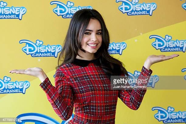 Sofia Carson attends 'Los Descendientes' photocall at The Walt Disney Company Ibaria offices on June 18 2015 in Madrid Spain
