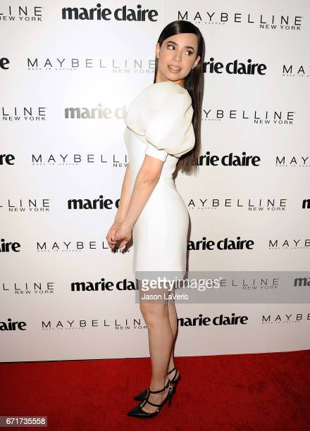 Sofia Carson attends Marie Claire's Fresh Faces event at Doheny Room on April 21 2017 in West Hollywood California