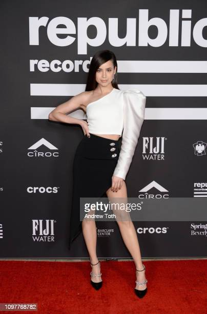 Sofia Carson attends Republic Records Grammy after party at Spring Place Beverly Hills on February 10 2019 in Beverly Hills California