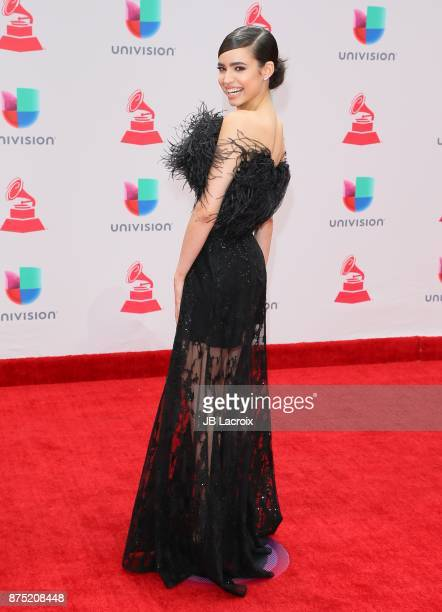 Sofia Carson attends the 18th Annual Latin Grammy Awards on November 16 2017 in Las Vegas Nevada