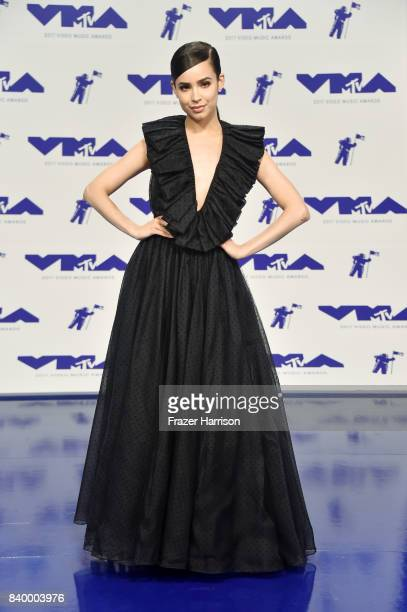Sofia Carson attends the 2017 MTV Video Music Awards at The Forum on August 27 2017 in Inglewood California