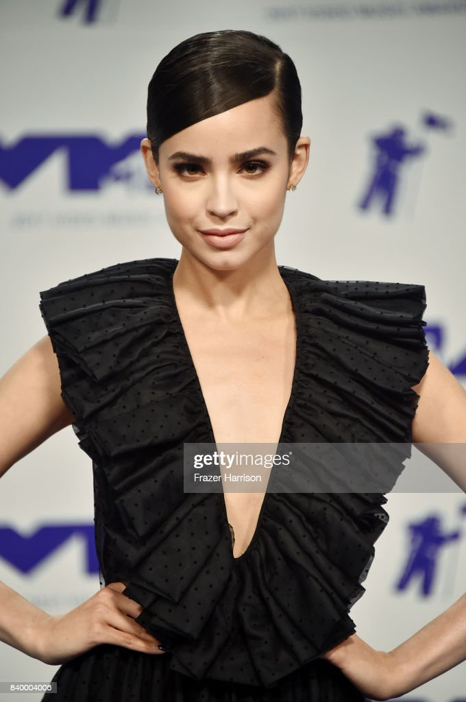 Sofia Carson attends the 2017 MTV Video Music Awards at The Forum on August 27, 2017 in Inglewood, California.