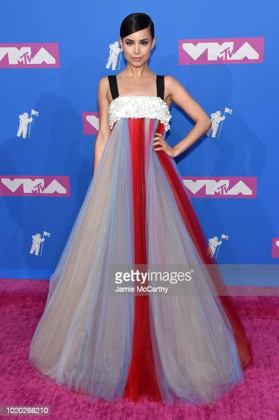 Sofia Carson attends the 2018 MTV Video Music Awards at Radio City Music Hall on August 20 2018 in New York City