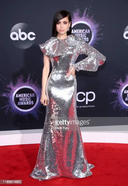 Sofia Carson attends the 2019 American Music Awards at Microsoft Theater on November 24 2019 in Los Angeles California