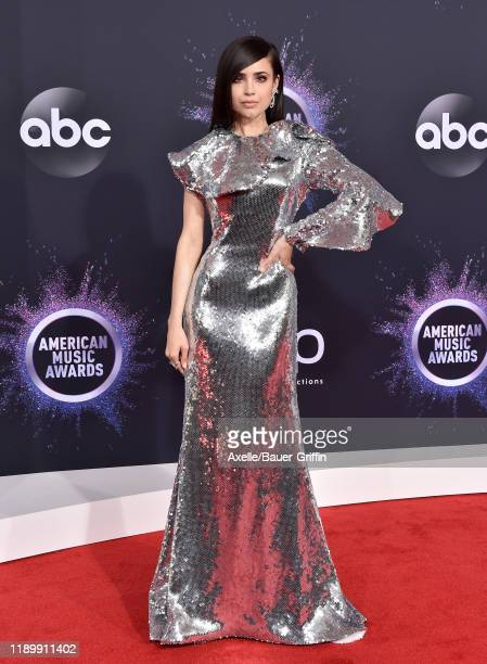 Sofia Carson attends the 2019 American Music Awards at Microsoft Theater on November 24, 2019 in Los Angeles, California.