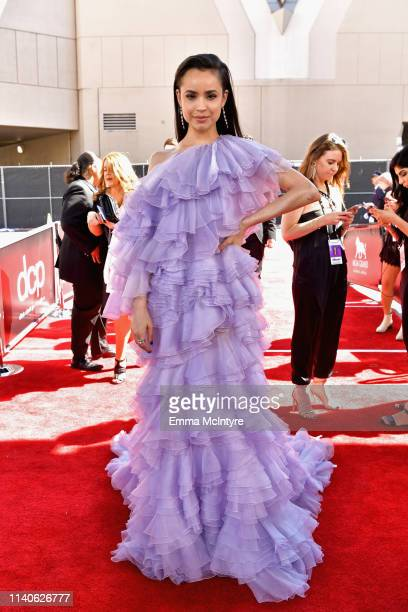 Sofia Carson attends the 2019 Billboard Music Awards at MGM Grand Garden Arena on May 1, 2019 in Las Vegas, Nevada.