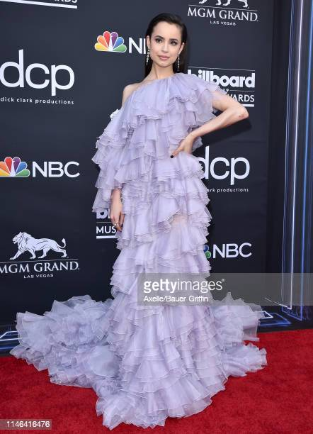 Sofia Carson attends the 2019 Billboard Music Awards at MGM Grand Garden Arena on May 01 2019 in Las Vegas Nevada