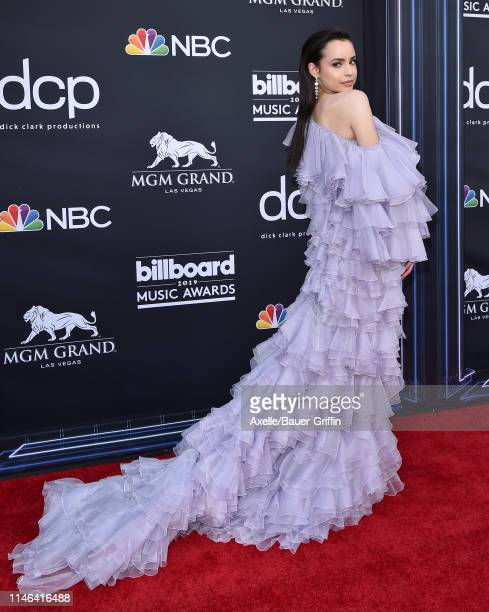 Sofia Carson attends the 2019 Billboard Music Awards at MGM Grand Garden Arena on May 01, 2019 in Las Vegas, Nevada.