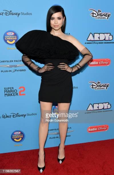 Sofia Carson attends the 2019 Radio Disney Music Awards at CBS Studios Radford on June 16 2019 in Studio City California