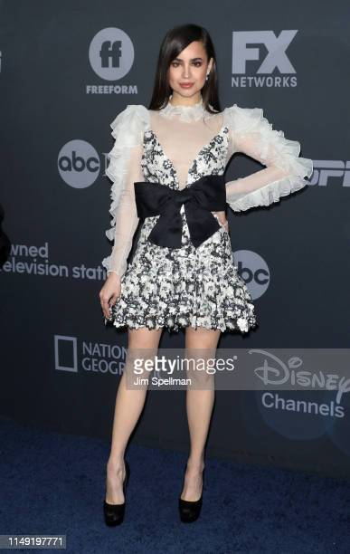 Sofia Carson attends the 2019 Walt Disney Television Upfront at Tavern On The Green on May 14 2019 in New York City