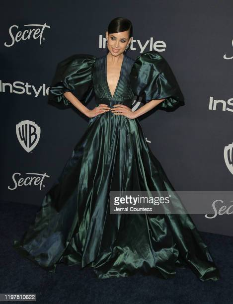 Sofia Carson attends the 21st Annual Warner Bros. And InStyle Golden Globe After Party at The Beverly Hilton Hotel on January 05, 2020 in Beverly...