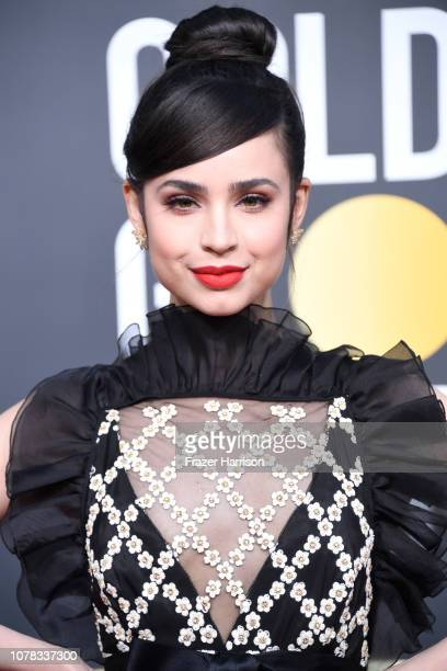 Sofia Carson attends the 76th Annual Golden Globe Awards at The Beverly Hilton Hotel on January 6 2019 in Beverly Hills California