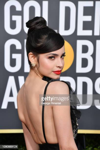 Sofia Carson attends the 76th Annual Golden Globe Awards held at The Beverly Hilton Hotel on January 06, 2019 in Beverly Hills, California.